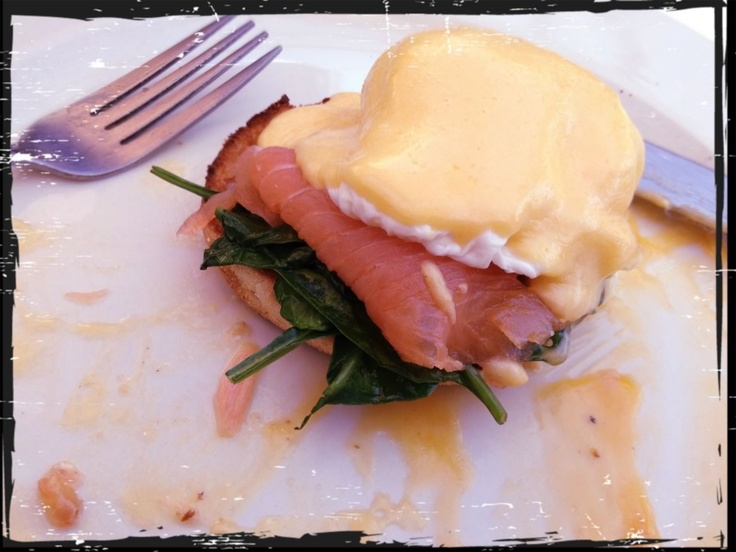 I had eggs Benedict on Saturday the 22nd of September at Envy Cafe and Gallery in Summer Hill. Must say the food is to die for 10/10