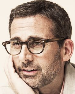 Steve Carell promoting Despicable Me 2 little creepy