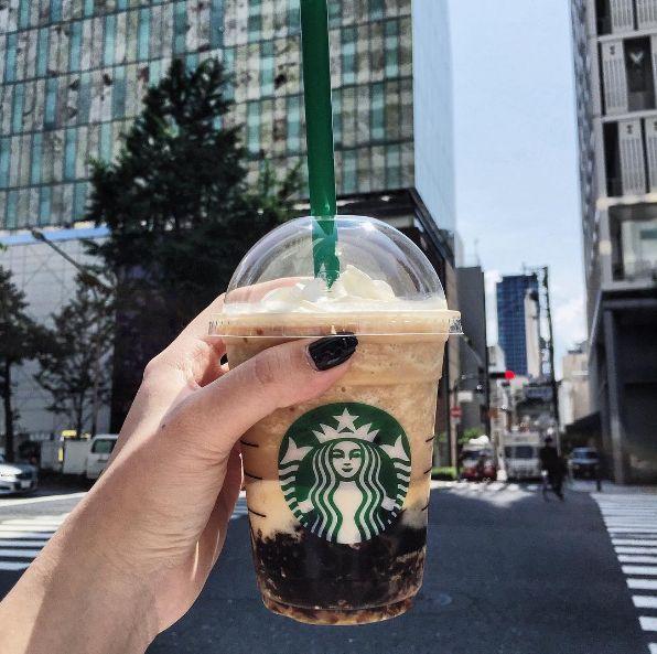 Coffee Jelly Frappuccino (Starbucks Asien)   19 Dinge, die du in Deutschland bei McDonald's und Starbucks nicht kriegst