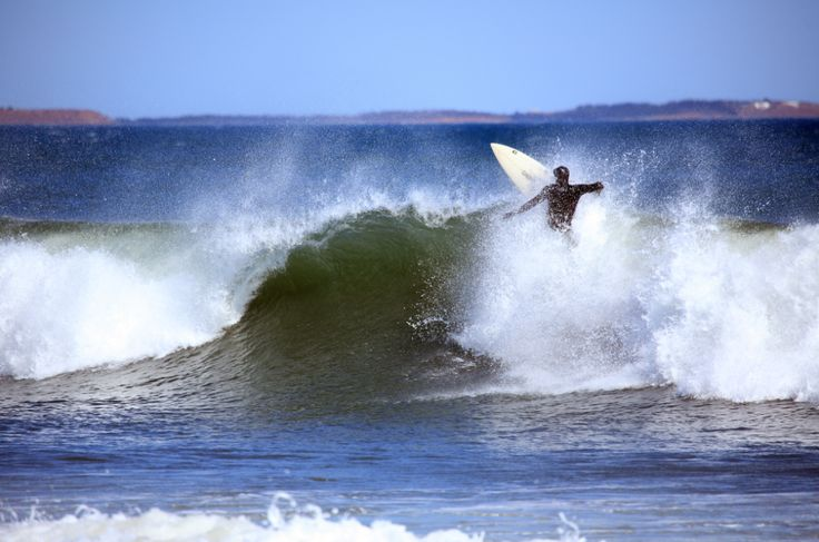 Surfer in Cow Bay, Dartmouth