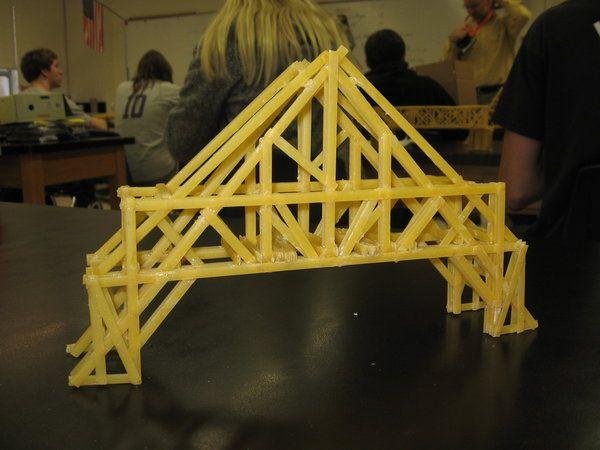 Pasta Bridge (physics)