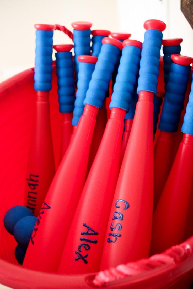 Secrets of a Modern Mama: Preston's Baseball First Birthday Party