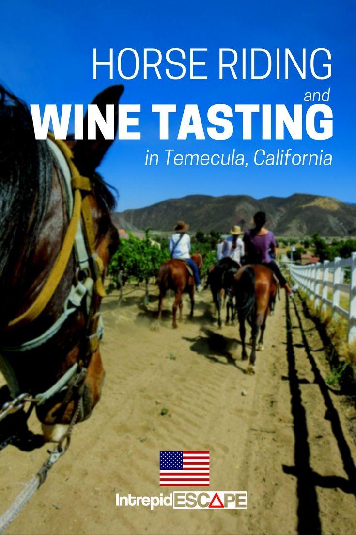 Horse Riding & Wine Tasting in Temecula, California