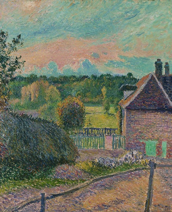 1035 best images about camille pissarro on pinterest for Camille pissarro oeuvre