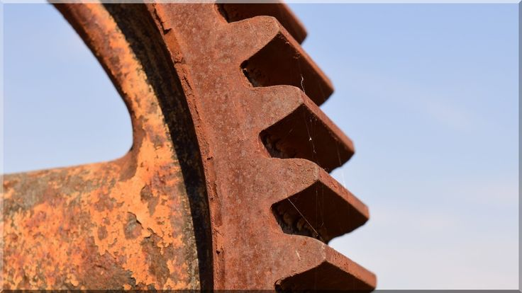 Fogaskerék, industrial loft dekoráció