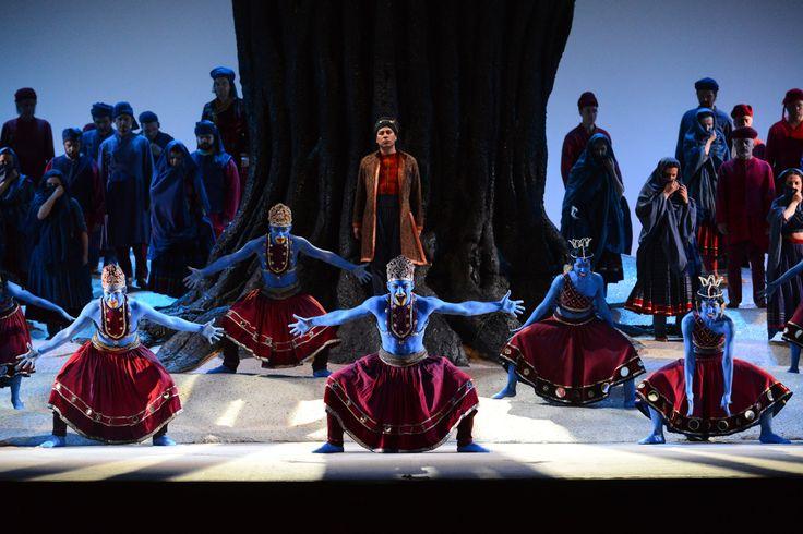 Il corpo di ballo e Jesús León - Prova Generale 22/03/2014 (Ph. Roberto Ricci)