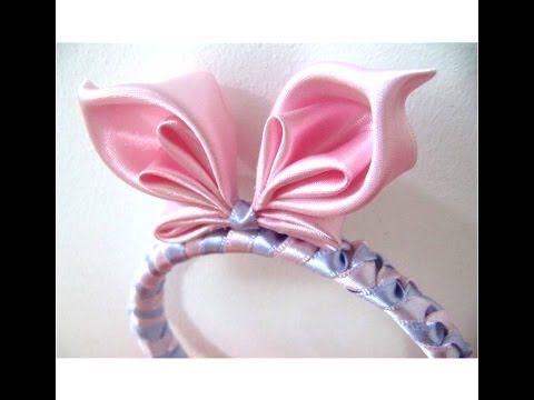 Mariposa diadema en cintas para el cabello - butterfly bow headband