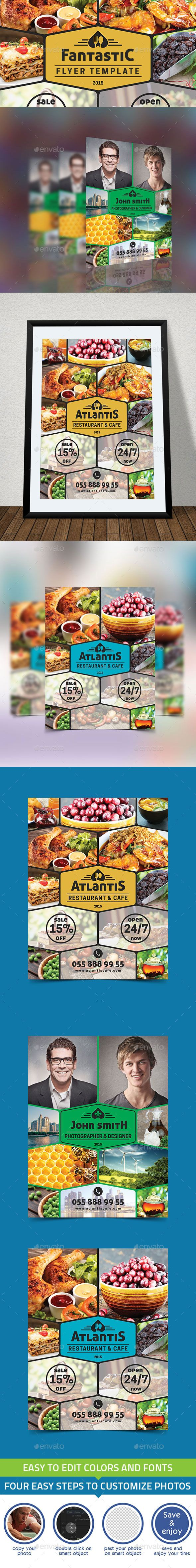 Fantasic Flyer Template | Download: http://graphicriver.net/item/fantasic-flyer-template/10349709?ref=ksioks