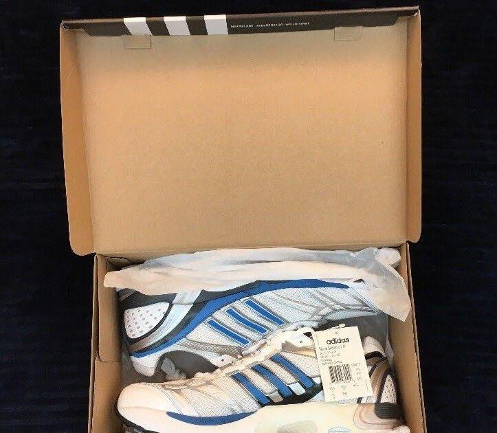 Adidas Supernova Sequence 2 Men's Running Shoe Size 11 Blue/White/Silver NIB