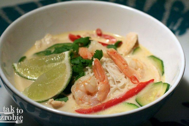 Tom kha – tajska zupa inaczej – Tak to zrobię