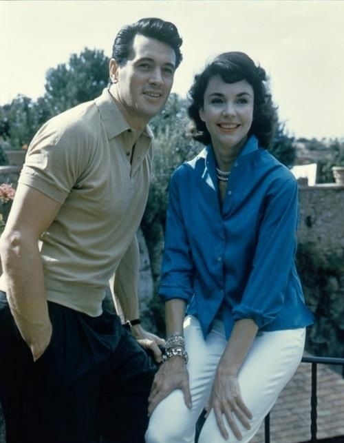 Rock Hudson & Jennifer Jones.....Uploaded By www.1stand2ndtimearound.etsy.com