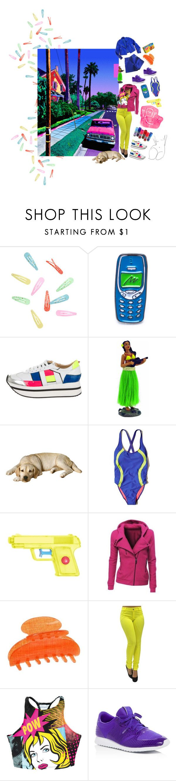 """lux"" by astral-leech ❤ liked on Polyvore featuring Laser Kitten, Ruthie Davis, Sandicast, Hollister Co., WithChic, France Luxe and New Balance"