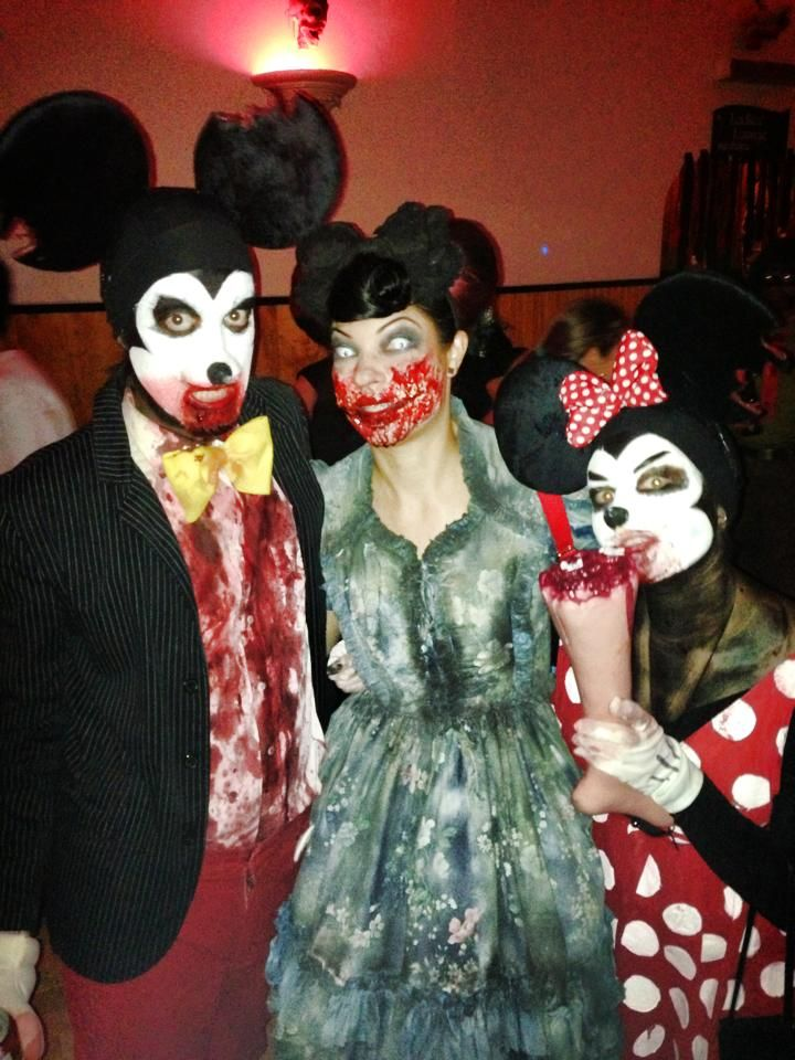 Freaky Mickey & Minnie Mouse with friend winners of San ...