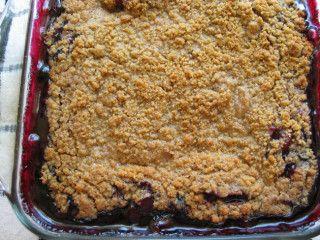 Best Blueberry Rhubarb Crumble