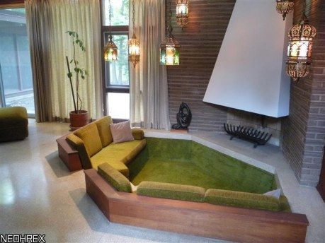 17 best images about conversation pit on pinterest for Living room conversations