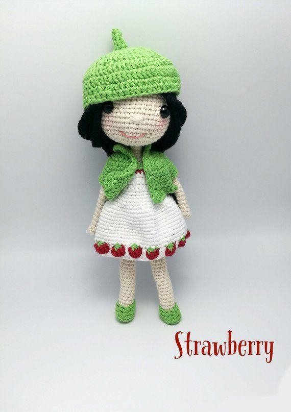 PATTERN-Mindy The Dress Up Doll-Crochet Pattern, pdf | Dress up dolls, Crochet  doll clothes, Crochet doll pattern | 807x570