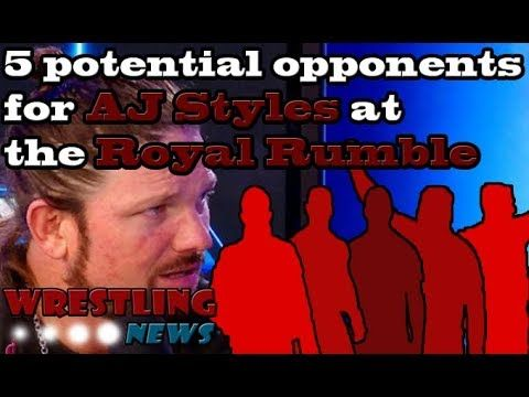 5 potential opponents for AJ Styles at the Royal Rumble | Wrestling News