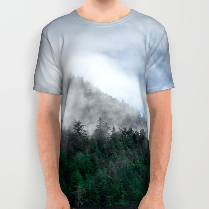 The Air I Breathe All Over Print Shirt by Mixed Imagery | Society6