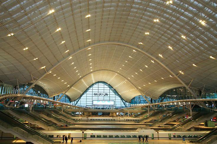 Wuhan Railway station, China