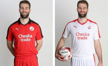 Crawley Town FC 2016/17 PUMA Home and Away Kits