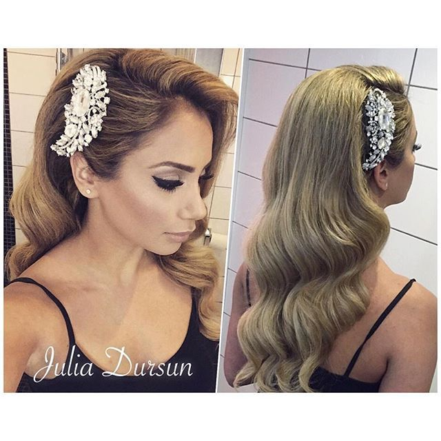 WEBSTA @ juliadursun -  ..#bruduppsättning #slöja #håruppsättning #uppsättning #festuppsättning #hairupdo #updo #hårstylist #sverige #love #this #hairstylist #hair #juliadursun #hairbyjuliaa #hårsmycke #makeup #style #waves #curls #2015 #weddinghair #bridal #bridalupdo #hairbyjulia #sweden #classy #bröllopsuppsättning #bröllop #wedding #juliadursun