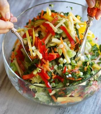 Thai Summer Salad - crisp and fresh!