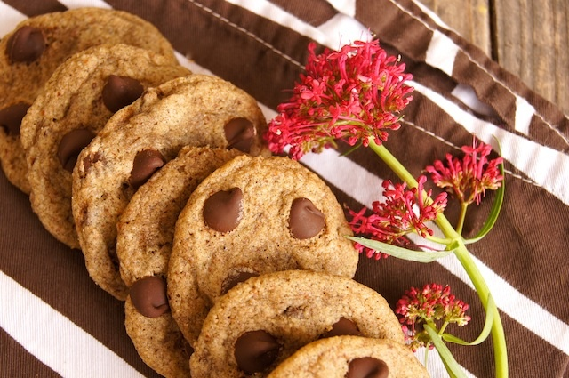 Gluten-Free Buckwheat Chocolate Chip Cookies