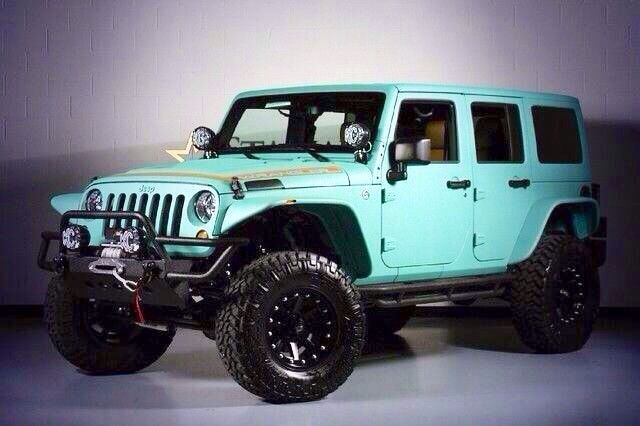 Turquoise Jeep Wrangler For Sale Autos Post