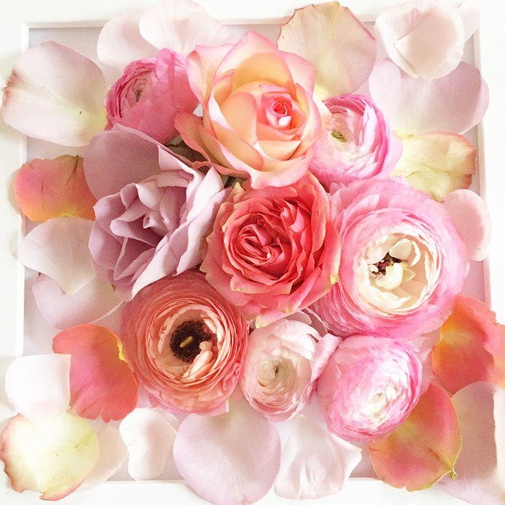 Ranunculus & Roses www.theenchantedflower.co.uk