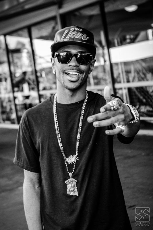 Big Sean - pic I snapped backstage at Supafest in Melbourne last year. #hiphop #rap