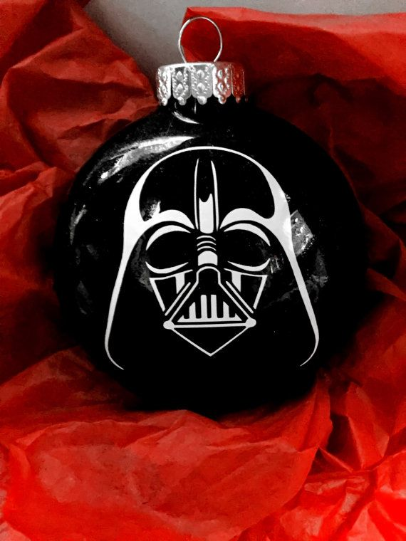 Darth Vader Ornament Star Wars Ornament Star by AnchorsAndAvocados