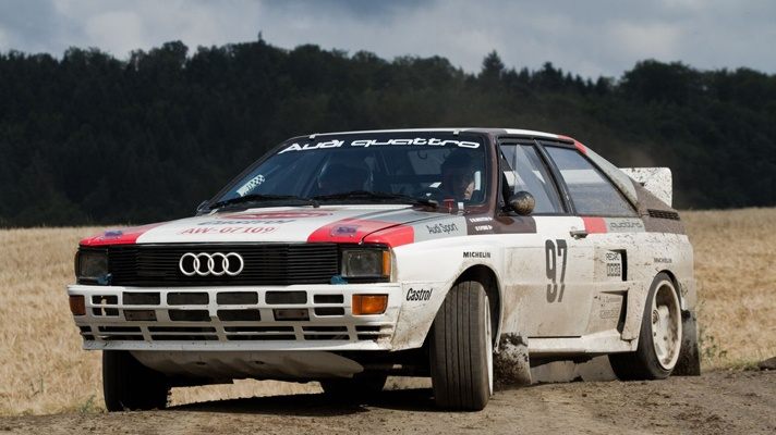 #AudiQuattro #rally