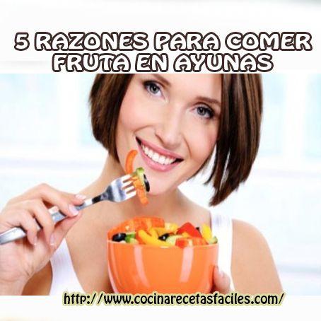4 razones para comer frutas en ayunas