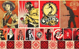 This is true art! i.d. art has the biggest collection of spray paint in th east coast!!  Museum Of The Street Art: Obey
