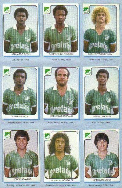Album de FCF por alla en el 86. El equipo que debio ser campeon.
