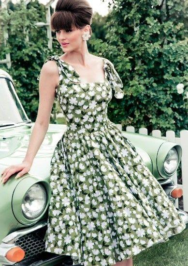 """Lena Hoschek """"A country Picnic"""" -- очаровательные и женственные образы, как в 50-х"""