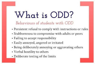 Oppositional Defiant Disorder: Strategies to support ODD students in the classroom - repinned by @PediaStaff – Please Visit ht.ly/63sNtfor all our pediatric therapy pins