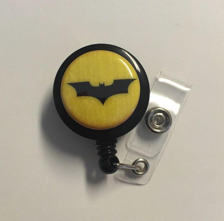 Exceptional Retractable Badge Holder, Batman, Medical Office Supplies Nurse Veterinary