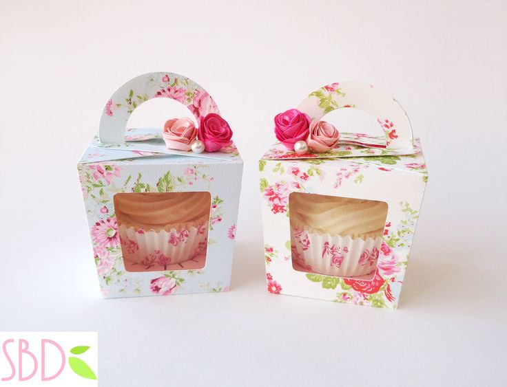 Paso a Paso para Hacer Bellas Cajas para Cupcakes.