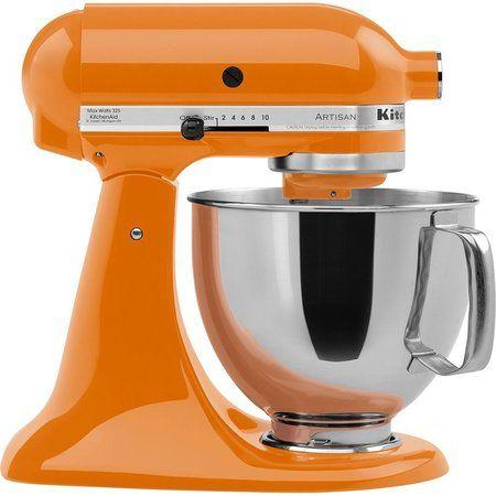 Batedeira Kitchenaid Stand Mixer Tangerine Kea33c8 110v