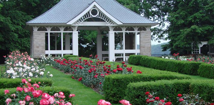 Fellows Riverside Garden, Rose Garden, Mill Creek MetroParks, Youngstown, Ohio