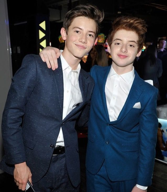 Griffin Gluck and Thomas Barbusca