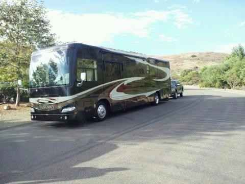 """2007 Used Damon Tuscany 4055 Class A in California CA.Recreational Vehicle, rv, 2007 Damon Tuscany 4055, CAT C7 350HP, Allison trans, Freightliner chassis Super clean unit, original owner. Interior and exterior are in excellent condition. 3 AC units (2 are heat pumps). Many upgrades including HD Winegard Satellite (DirecTV), 40"""" LED TV, Denon Home Theater system with powered sub and Zone2 outside speakers, two new BluRay players, iPod Interface, XM radio, and custom remote control…"""