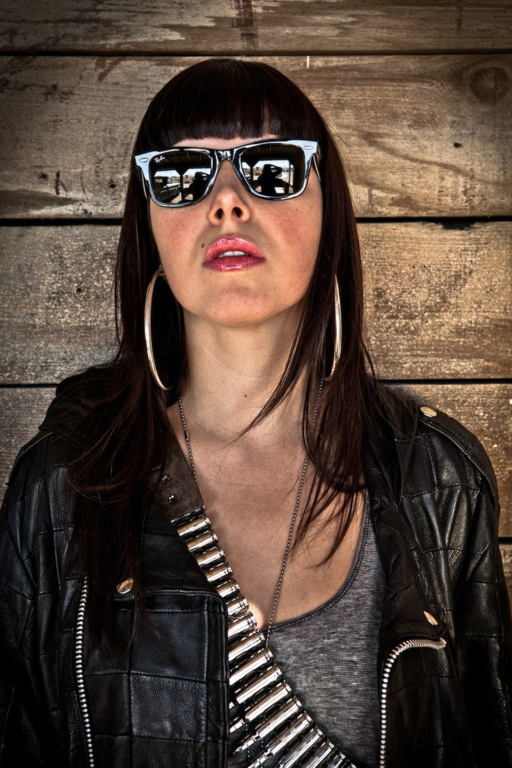 Alexis Krauss of Sleigh Bells. I still can't decide if I love or hate her, but her music jams.