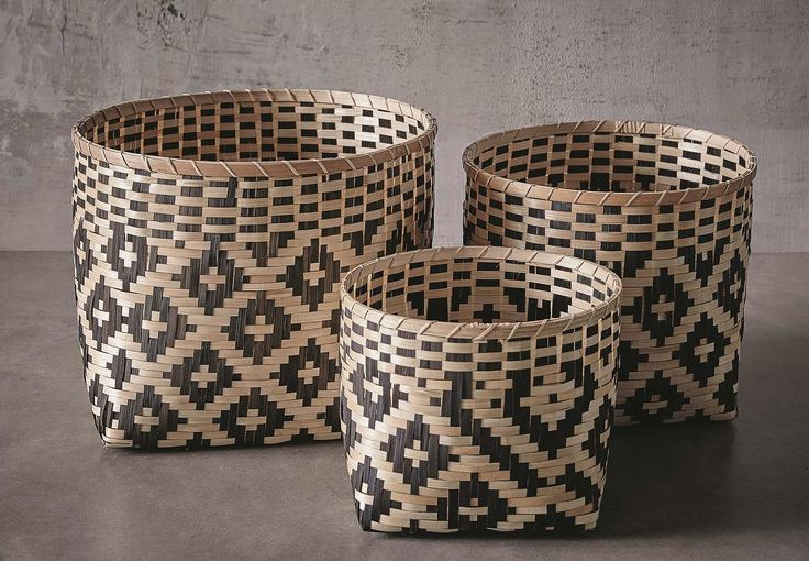 Baskets are multi-purpose, light to move around and provide an opportunity to add pattern or texture  #freedomfurniture #placesandgraces #curated #interiors for #creativeliving