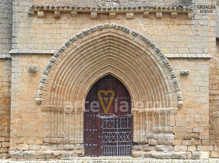 Iglesia de Santa María de los Reyes. Grijalba, provincia de Burgos
