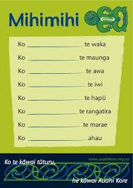 mihimihi template - Google Search