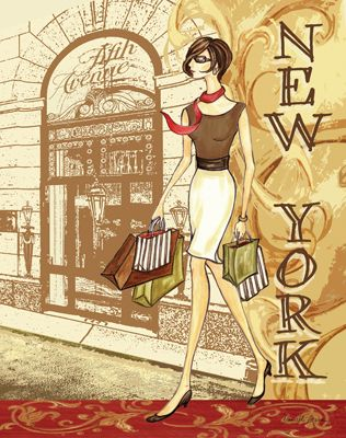 Danielle Acerra / RB1839  Fashion Traveler IV  (New York)  14x11