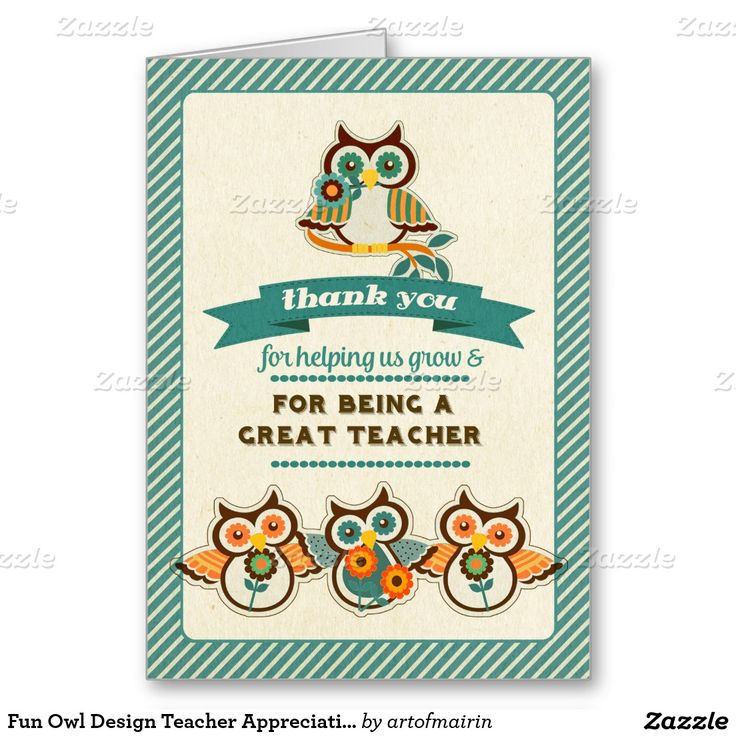 The 25+ best Greeting cards for teachers ideas on ...