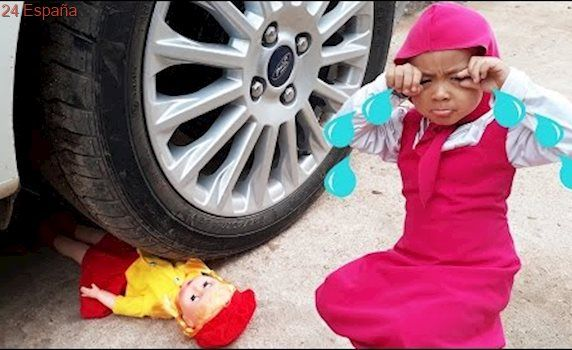 Masha's DOLL was crushed by Joker's CAR with Frozen Elsa's Chupa Chups and Spiderman's Phone
